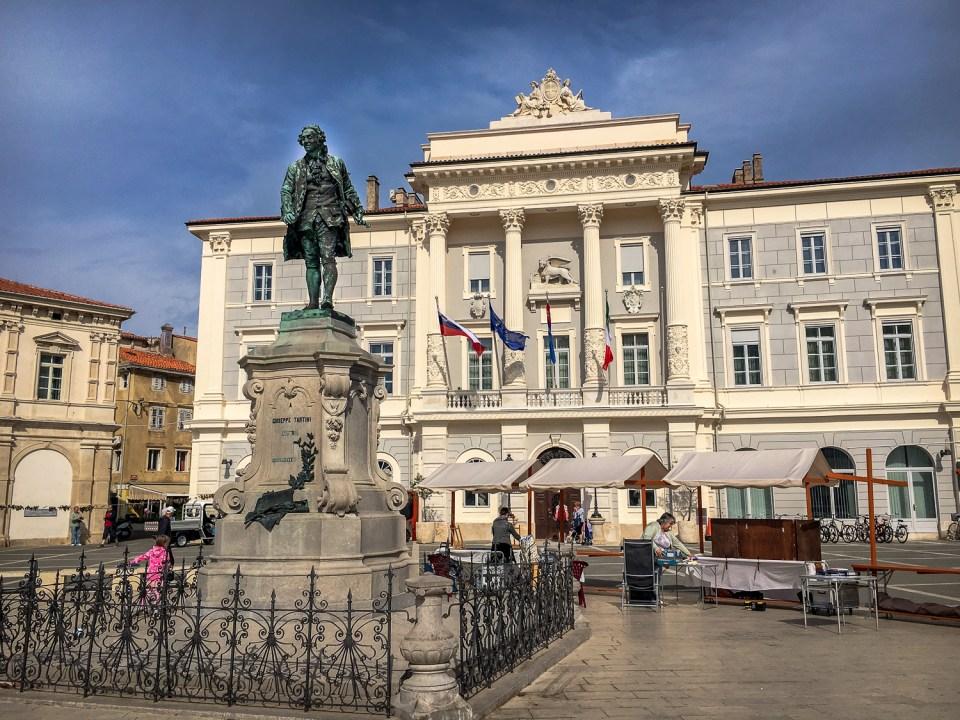 Die Statue von Tartini