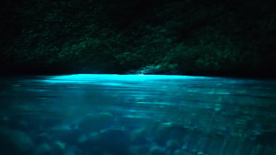 Willkommen in der Blauen Grotte