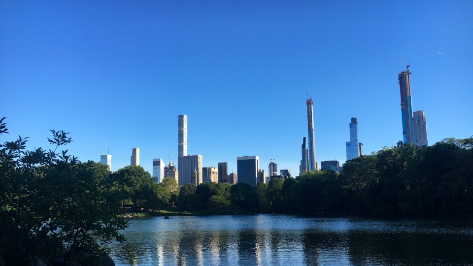 Central Park in New York - ein Highlight meiner Reise