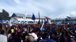 kaos partai untuk kampanye politik