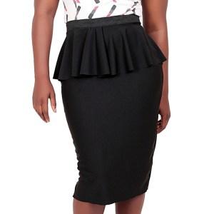 model rok wanita kantor