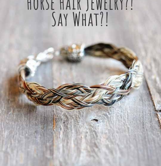 You Make Personalized Horse Hair Jewelry? Say what?!