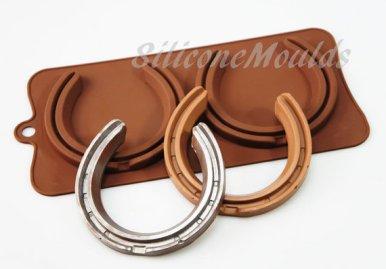Chocolate horseshoes? Heck YES!