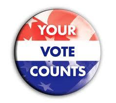 Your Vote Counts! Vote!