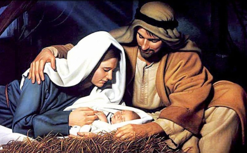 For unto you is born this day in the city of David a Savior!