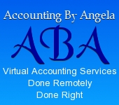 Accounting By Angela ~ Virtual Accounting Services Done Remotely & Right ~ www.accountingbyangela.com