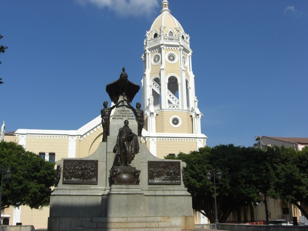 Church and Statue