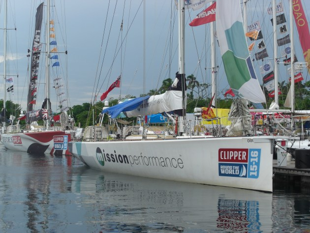 Clipper race boats