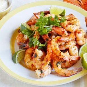 chilli-prawns