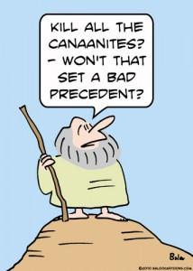 Funny Moses Cartoon