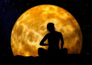 Moon stands still