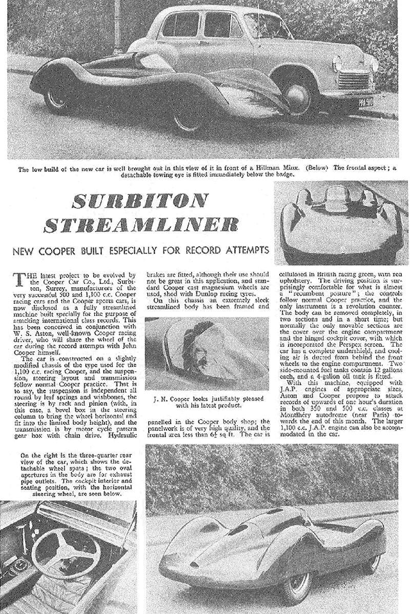 FILTRE   Surbiton Streamliner