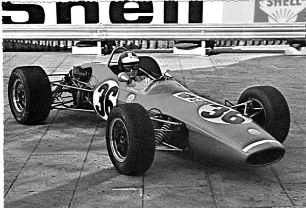 FILTRE NB Alpine F3 Monaco 1968