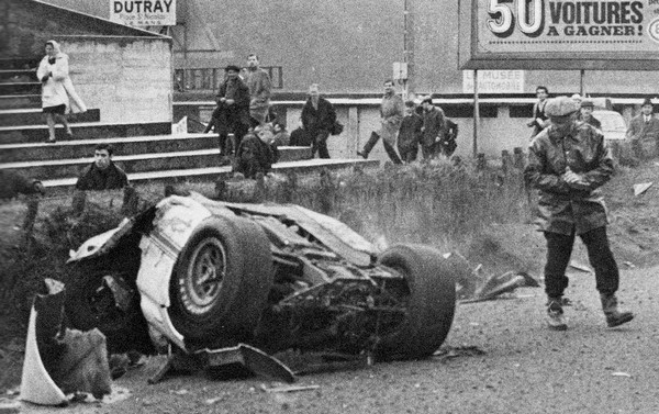 FILTRE   1966 LM Walt Hansgen Ford GT- Courbe Dunlop