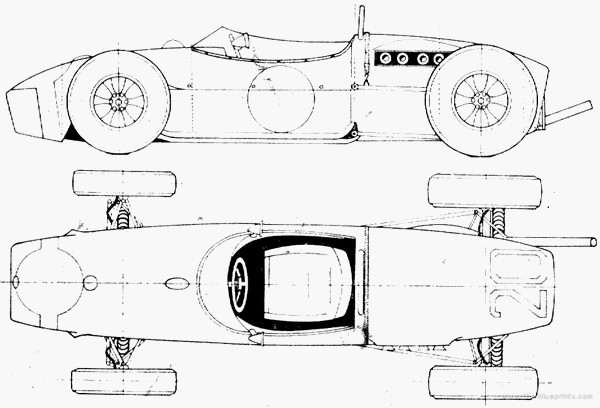 FILTRE Blueprint lotus-18-f1-gp-1961