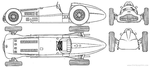 FILTRE Plan OK mercedes-w-154