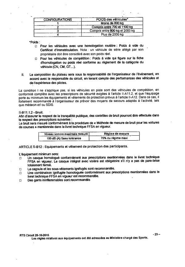 FILTRE reglement circuit 2