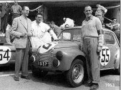 lFILTRE e mans 1953