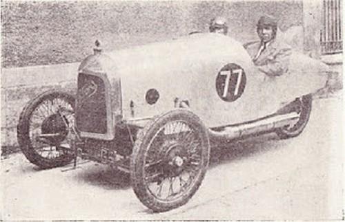 FILTRE SANDFORD - CYCLECAR MOTEUR 4cyl RUBY 3 VITESSES - 1923