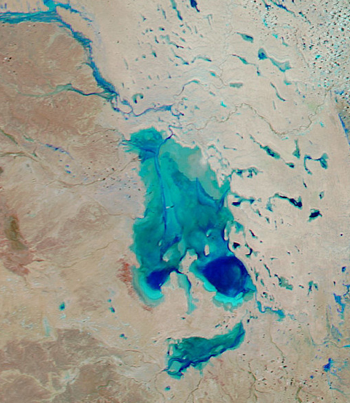 Lake Eyre Tours Flights to Floods 2015