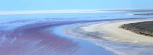 Lake Eyre water