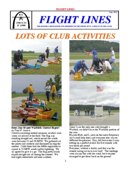 Flight Lines (July-2002)