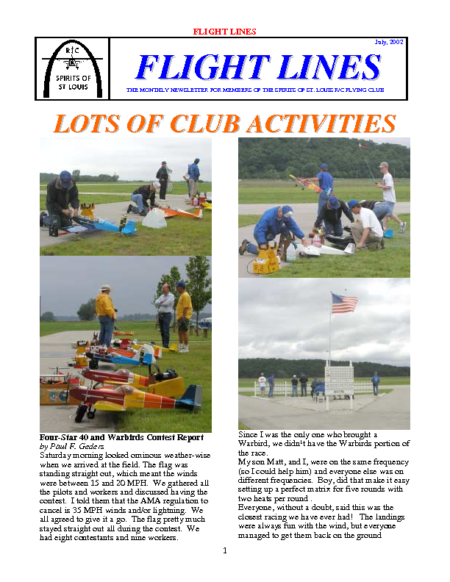 Flight Lines (July-2002)