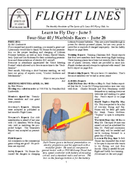 Flight Lines (June-2004)