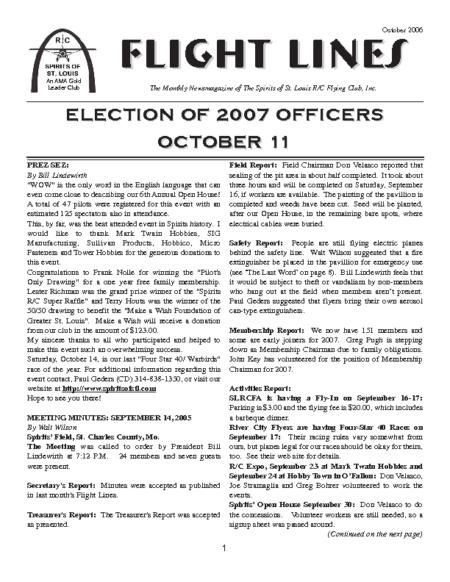 Flight Lines (October-2006)