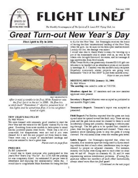 Flight Lines (February-2006)