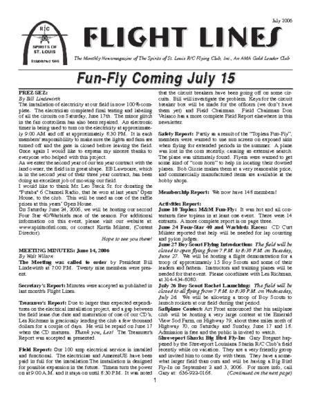 Flight Lines (July-2006)