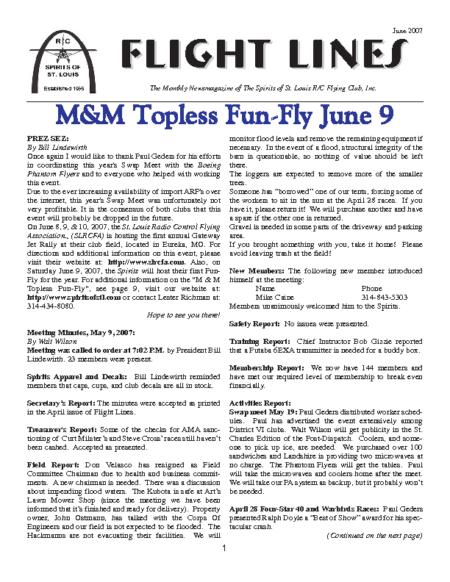 Flight Lines (June-2007)