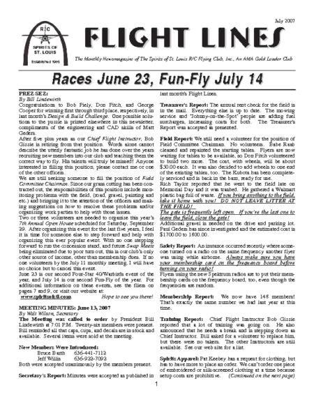 Flight Lines (July-2007)