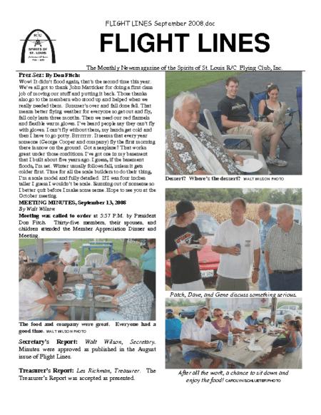Flight Lines (September-2008)
