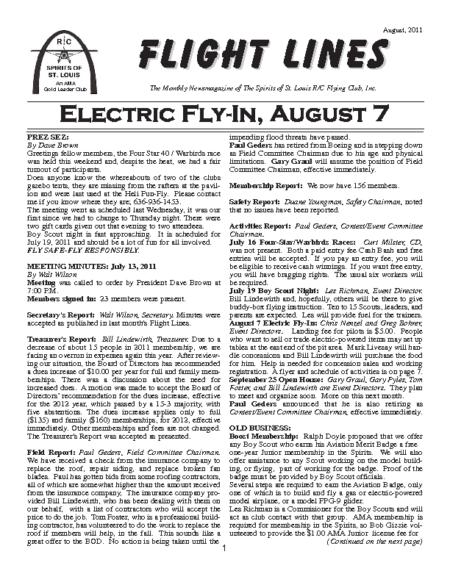 Flight Lines (August-2011)