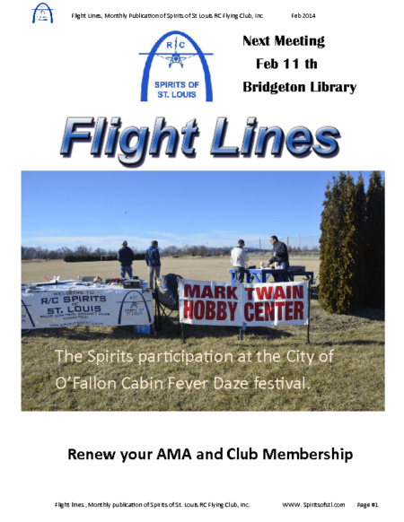 Flight Lines (February-2015)