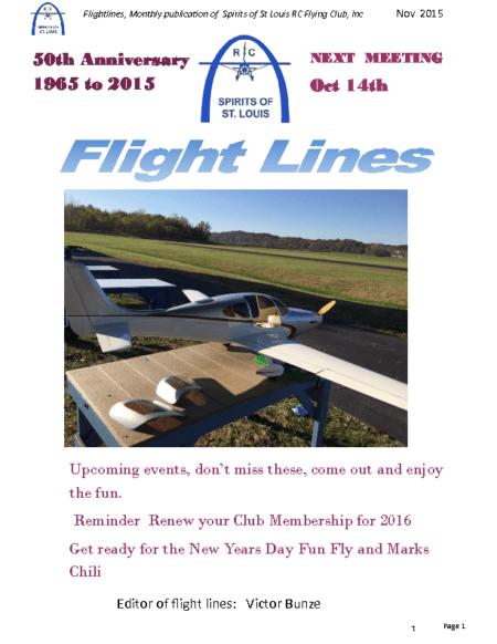 Flight Lines (November-2015)