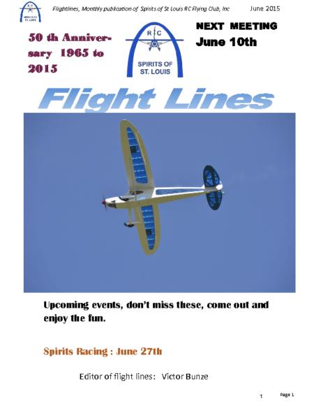 Flight Lines (June-2015)