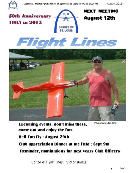 Flight Lines (August-2015)