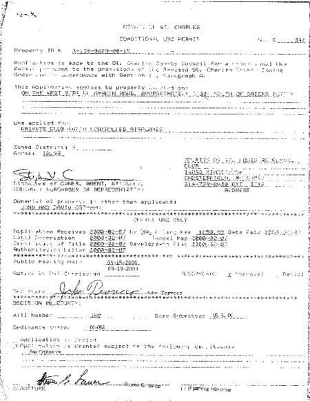 06 – Conditional Use Permit