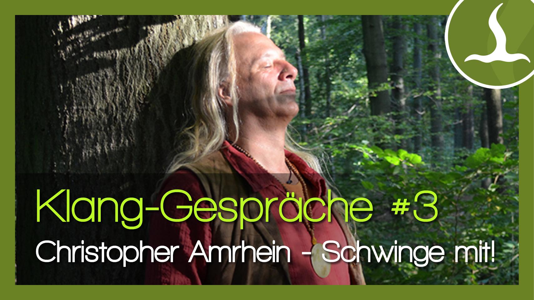 Chris Amrhein Klang Gespräche #3