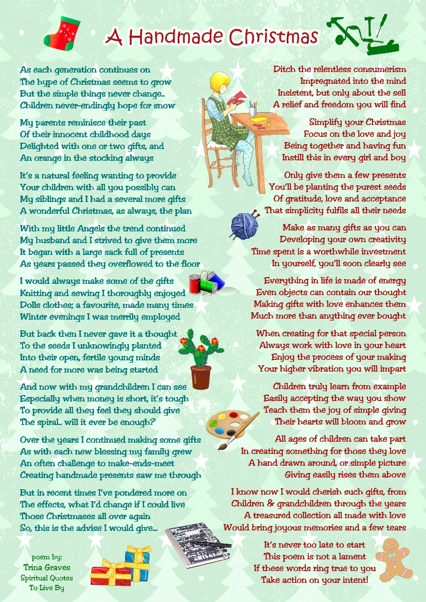 Christmas Short Poems And Thoughts