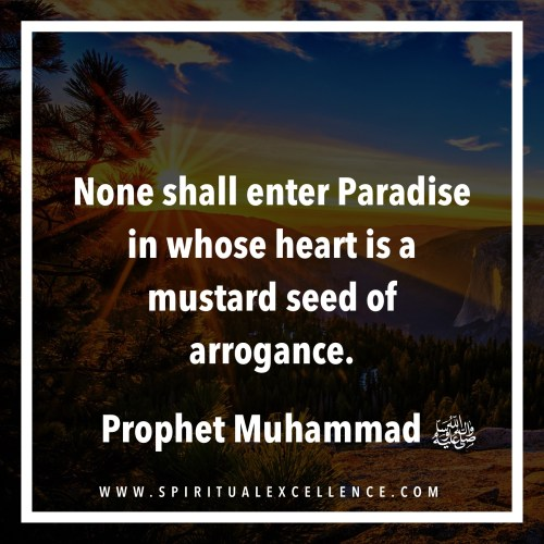 What God Hates Most : Arrogance