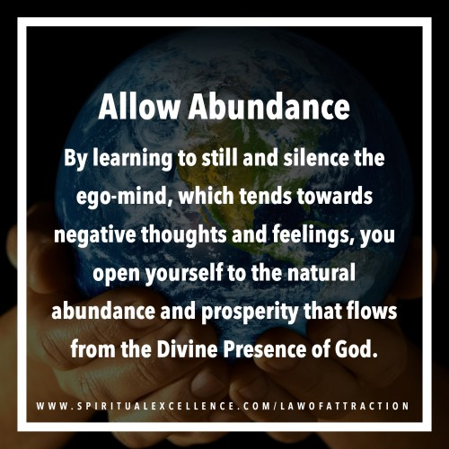 Islam and the Law of Attraction: Allow Abundance