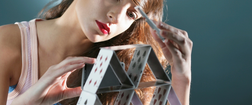 New Year health resolutions. Are they like a house of cards?