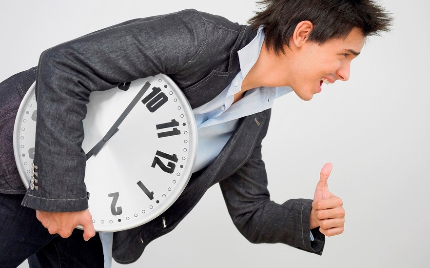 Beat the clock. It's good for your health