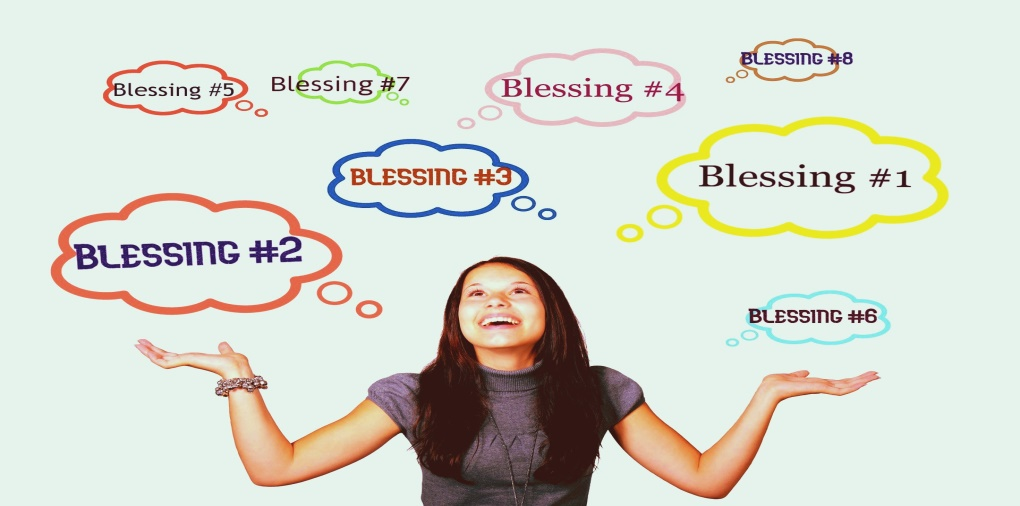 Count your many blessings. It's good for your health.
