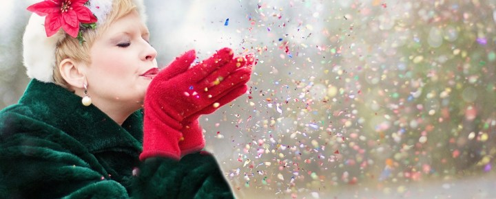 Fill your life with Christmas sparkle. It's good for your health