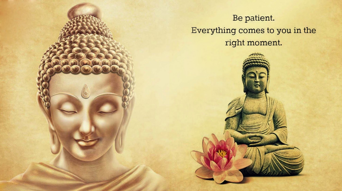 Image result for practising patience and acceptance buddhist picture