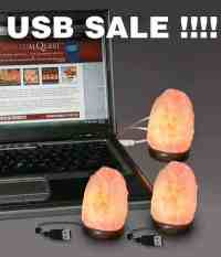 USB Salt Lamp Package Deal, Spiritual Quest